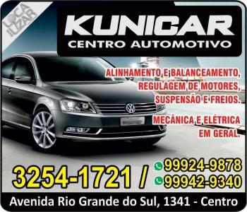 KUNICAR AUTOMECÂNICA / CENTRO AUTOMOTIVO MULTIMARCAS