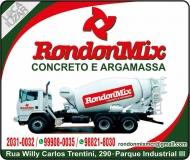 RONDONMIX CONCRETO / ARGAMASSA