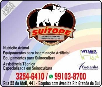 SUITOPE PRODUTOS AGROPECUÁRIOS AGROPECUÁRIA