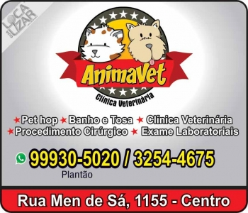 ANIMAVET CLÍNICA VETERINÁRIA E PET SHOP