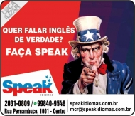 SPEAK ESCOLA DE IDIOMAS E INFORMÁTICA