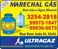 MARECHAL / DISK GÁS E ÁGUA MINERAL / ULTRAGAZ