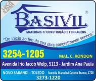 BASIVIL MATERIAIS DE CONSTRUÇÃO / FERRAGENS