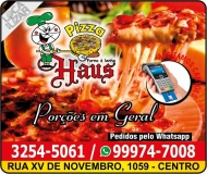 HAUS PIZZARIA / DISK PIZZA