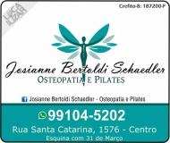 STUDIO DE PILATES JOSIANNE B. SCHAEDLER / FISIOTERAPEUTA E OSTEOPATIA
