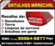 MARECHAL DISK ENTULHO