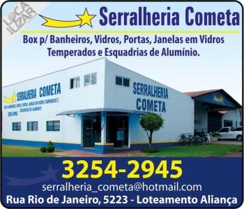 SERRALHERIA COMETA VIDRAÇARIA