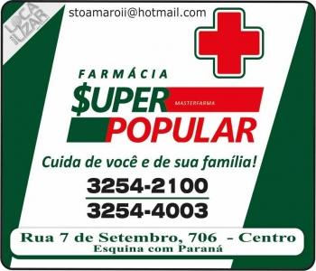SUPER POPULAR FARMÁCIA