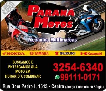 PARANÁ MOTOS MECÂNICA DE MOTOS