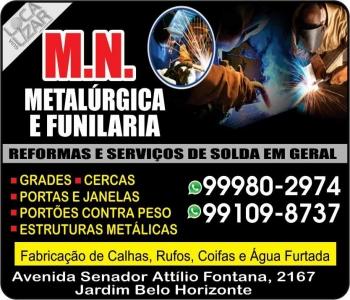 MN METALÚRGICA E FUNILARIA