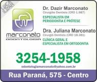 CIRURGIÃO DENTISTA JULIANA MARCONATO / ORTODONTISTA