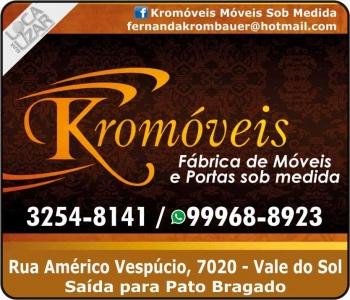 KROMÓVEIS MÓVEIS PLANEJADOS / SOB MEDIDA