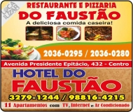 FAUSTÃO RESTAURANTE / PIZZARIA / HOTEL