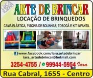 ARTE DE BRINCAR LOCAÇÕES DE BRINQUEDOS