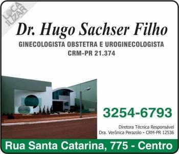 CLÍNICA DE GINECOLOGIA OBSTETRÍCIA E UROGINECOLOGIA HUGO SACHSER FILHO Dr. Ginecologista/Obstetra
