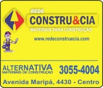 CONSTRU&CIA MATERIAIS DE CONSTRUÇÃO ALTERNATIVA
