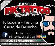 INK TATTOO STUDIO SOCIAL CLUB TATUAGEM