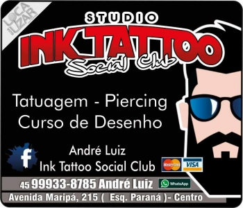 INK TATTOO STUDIO SOCIAL CLUB TATUAGEM