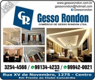 RONDON GESSO / DECORAÇÕES