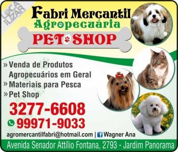 FABRI MERCANTIL AGROPECUÁRIA E PRODUTOS AGROPECUÁRIOS / PET SHOP