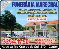 MARECHAL FUNERÁRIA SERVIÇOS FÚNEBRES / RECONSTITUIÇÃO DE CORPO E FACE / CAPELA MORTUÁRIA