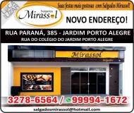 MIRASSOL SALGADOS E CONGELADOS
