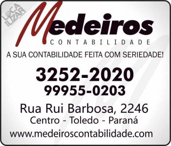 MEDEIROS CONTABILIDADE ESCRITÓRIO CONTÁBIL