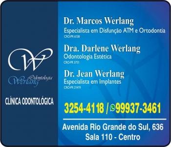 CIRURGIÃO DENTISTA DARLENE WERLANG / DOR OROFACIAL