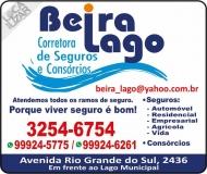 BEIRA LAGO CORRETORA DE SEGUROS E CONSÓRCIOS