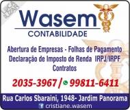 WASEM CONTABILIDADE ESCRITÓRIO CONTÁBIL