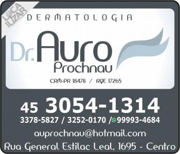 CLÍNICA DE DERMATOLOGIA AURO PROCHNAU Dr. Dermatologista