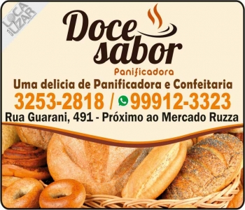 DOCE SABOR PANIFICADORA / CONFEITARIA