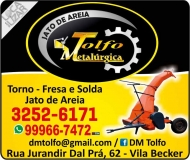 TOLFO METALÚRGICA E TORNEARIA / JATO DE AREIA