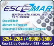 ESCOMAR CONTABILIDADE E ASSESSORIA EMPRESARIAL / ESCRITÓRIO CONTÁBIL