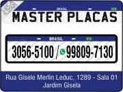 Cartão: MASTER PLACAS
