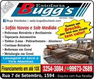 BUGG'S ESTOFADOS / ESTOFARIA / TAPEÇARIA