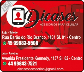 DICASES ACESSÓRIOS PARA CELULARES