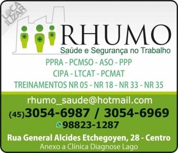 CLÍNICA DE SAÚDE MEDICINA E SEGURANÇA DO TRABALHO / RHUMO