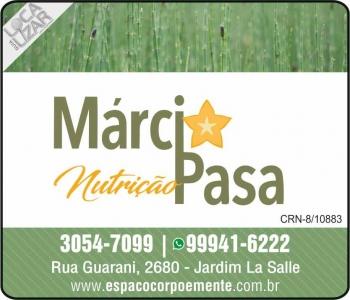 MÁRCIA FERNANDA PASA NUTRICIONISTA / NUTRIÇÃO