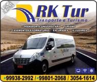 RK TUR TRANSPORTE UNIVERSITÁRIO E TURISMO