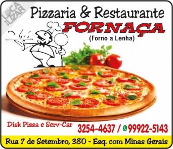 FORNAÇA PIZZARIA / RESTAURANTE / DISK PIZZA
