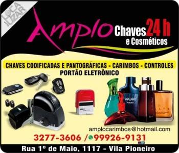 AMPLO CHAVEIRO E COSMÉTICOS