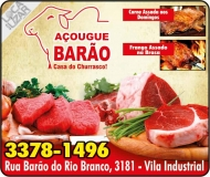 BARÃO AÇOUGUE BARÃO / CARVÃO / GELO