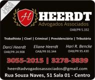 HEERDT ADVOGADOS ASSOCIADOS  oab/pr  5.332