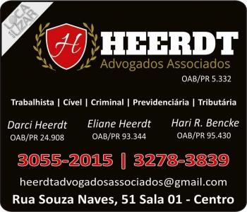ADVOCACIA DARCI HEERDT / DIREITO TRABALHISTA E PREVIDENCIÁRIO / ADVOGADOS ASSOCIADOS / HEERDT