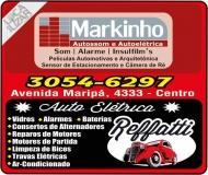 MARKINHO AUTOSSOM / REFFATTI AUTOELÉTRICA