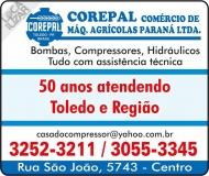 COREPAL CASA DO COMPRESSOR CASA DAS BOMBAS