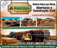 JK MADEIRAS NOBRES MADEIREIRA