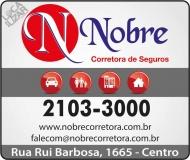 NOBRE SEGUROS CORRETORA DE SEGUROS