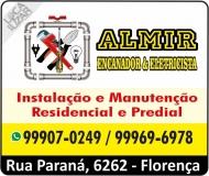 ALMIR ENCANADOR E ELETRICISTA